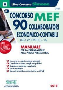 Concorso MEF 90 Collaboratori Economico Contabili – Manuale