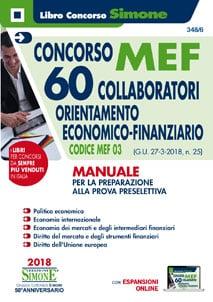 Concorso MEF – 60 Collaboratori Economico Finanziario – Manuale