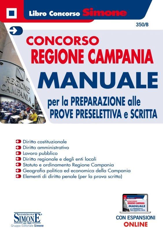 Concorso Regione Campania – Manuale per la preparazione alle prove preselettiva e scritta