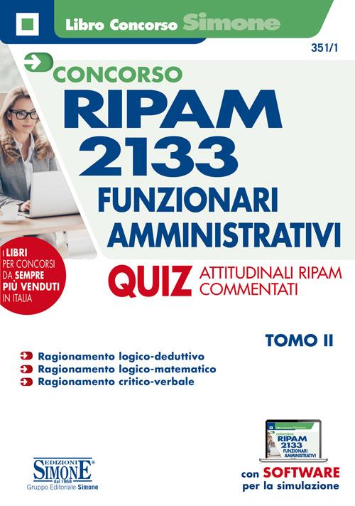 Concorso RIPAM 2133 Funzionari amministrativi – Quiz
