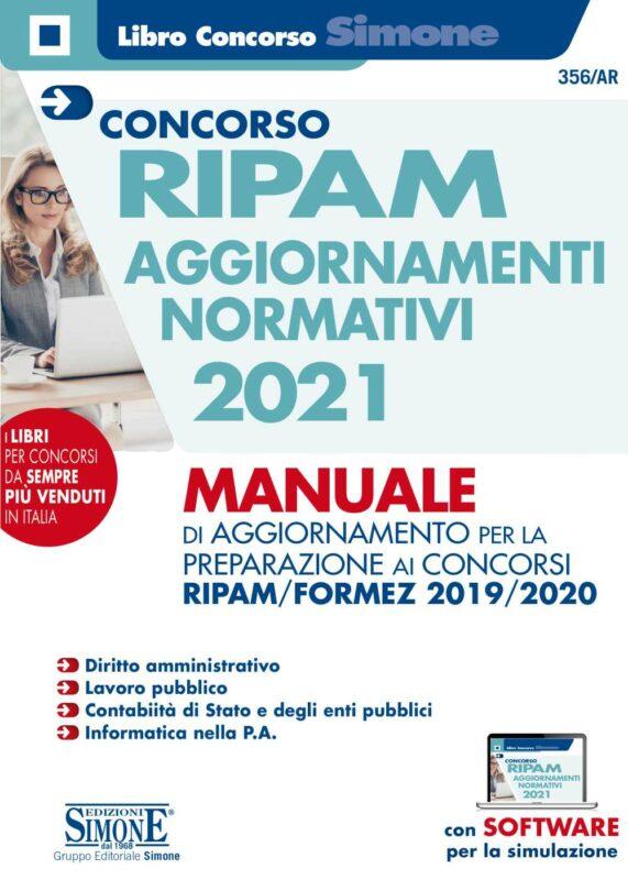Concorso RIPAM Aggiornamenti normativi 2021 – Manuale di aggiornamento per la preparazione ai concorsi RIPAM/Formez 2019/2020