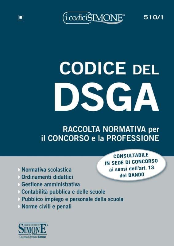 Codice del DSGA – Raccolta Normativa per il concorso e la professione