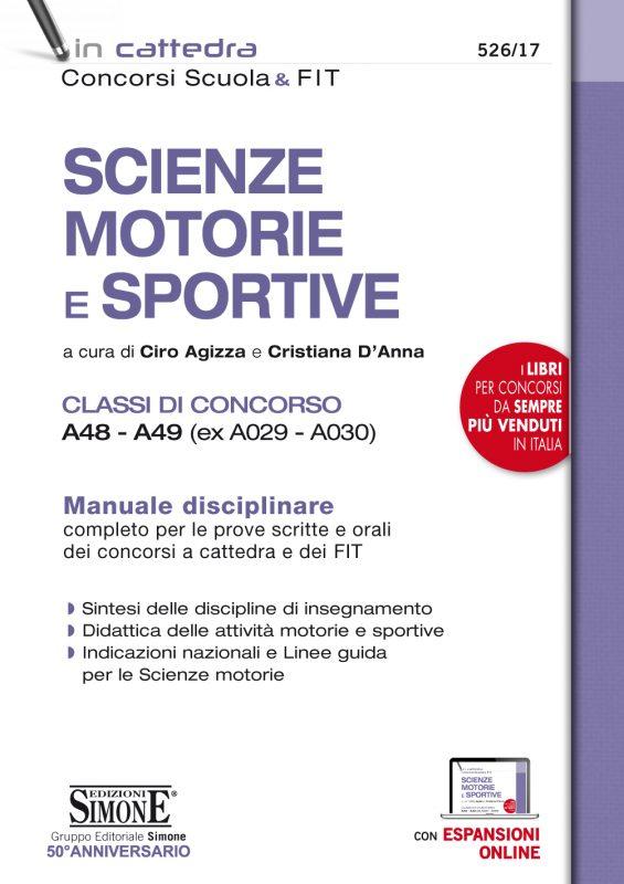 Scienze Motorie e Sportive – Classi di Concorso A48 – A49 (ex A029 – A030)