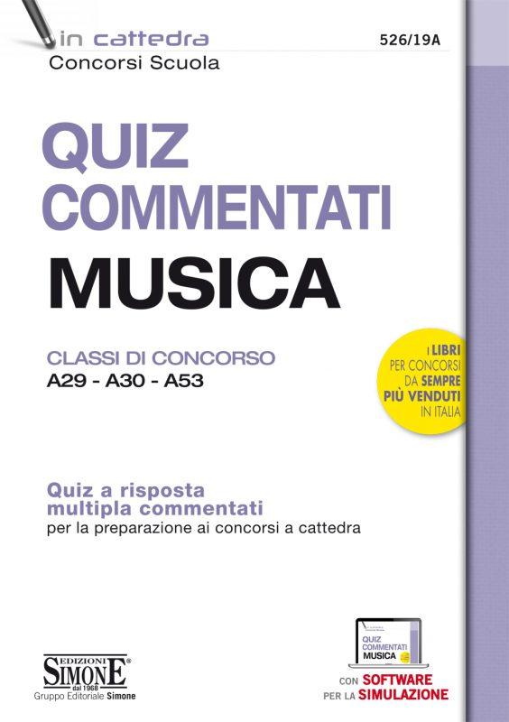 Quiz Commentati Musica – Classi di concorso A29 – A30 – A53