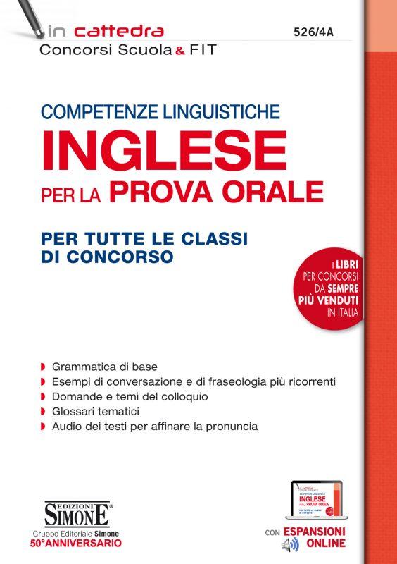 Competenze linguistiche INGLESE per la prova orale