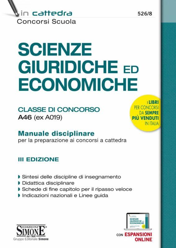 Scienze Giuridiche ed Economiche – Classe di Concorso A46 (ex A019)