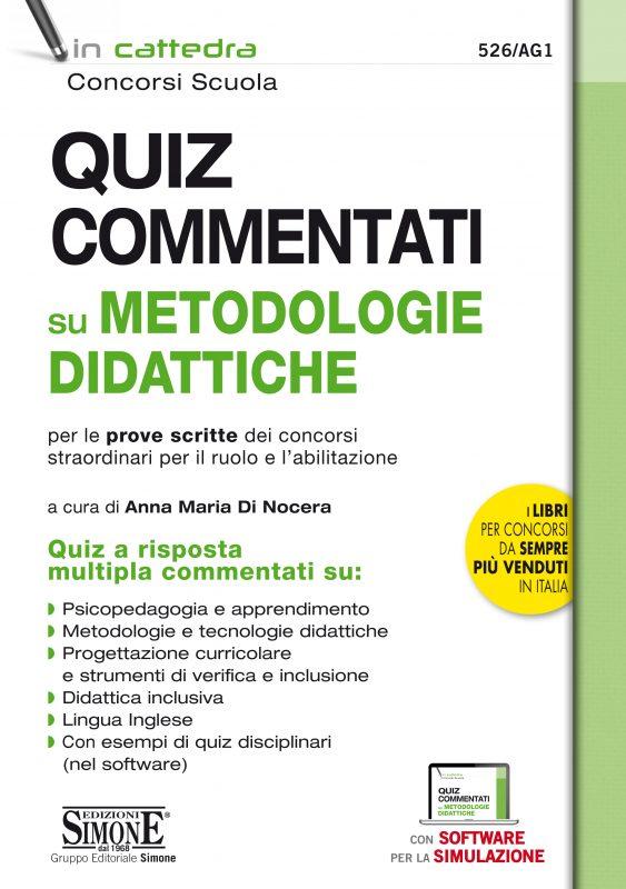 Quiz commentati su metodologie didattiche per le prove scritte dei concorsi straordinari per il ruolo e l'abilitazione