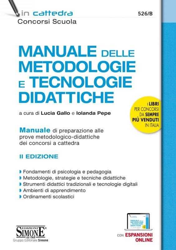 Manuale delle Metodologie e Tecnologie Didattiche