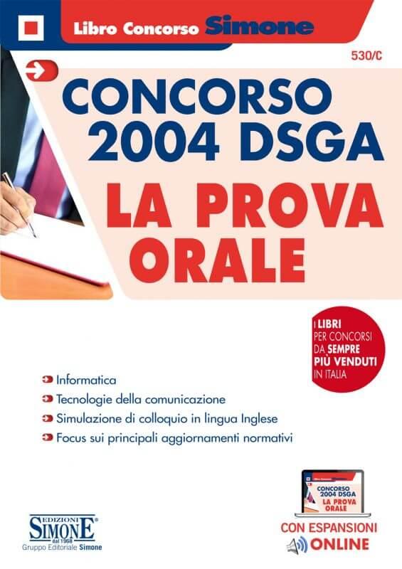 Concorso 2004 DSGA – La Prova orale