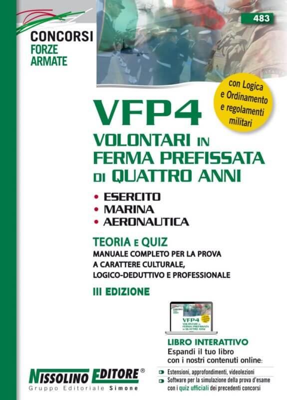 VFP4 Volontari in Ferma Prefissata di Quattro Anni Esercito, Marina, Aeronautica – Teoria e Quiz