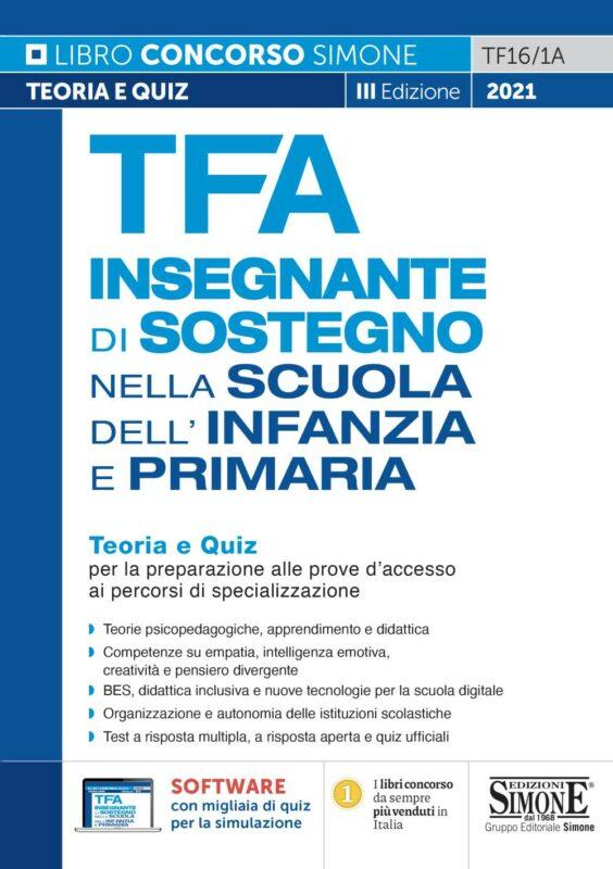TFA Insegnante di Sostegno Infanzia e Primaria