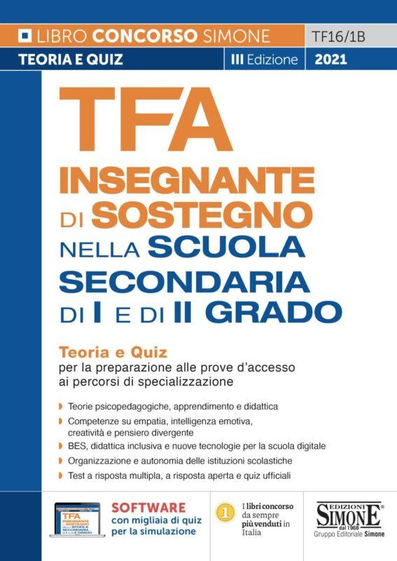 TFA Insegnante di sostegno – Nella scuola secondaria di I e di II grado
